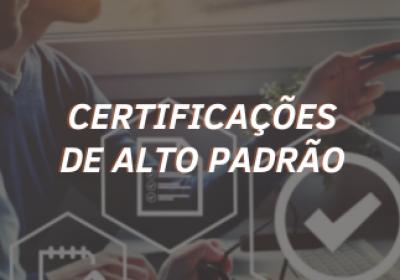 Certificações Samot